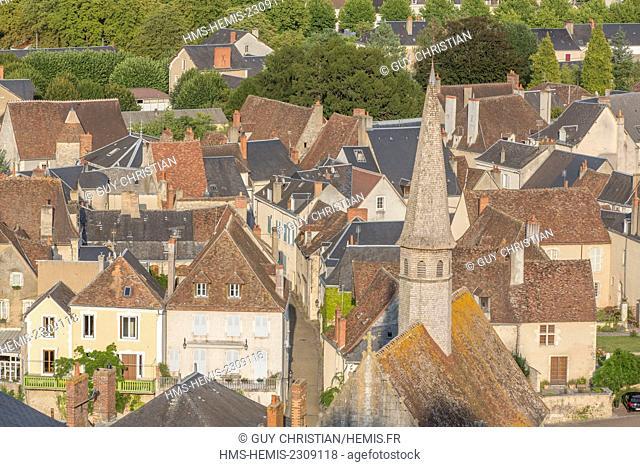 France, Indre, Argenton sur Creuse, Creuse valley