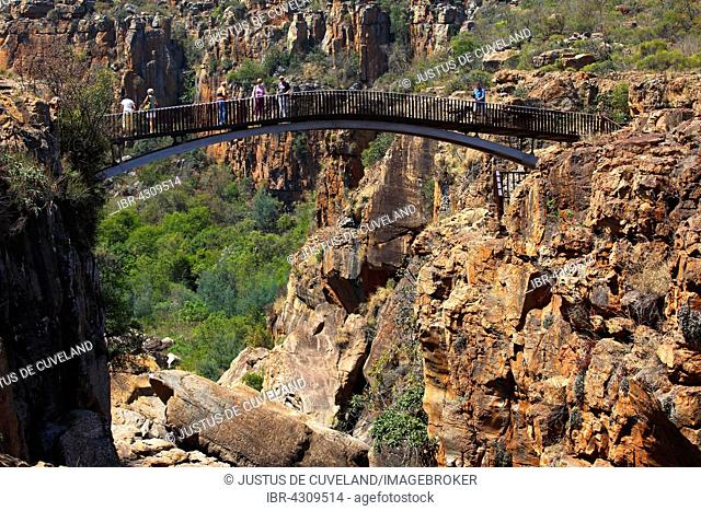 Blyde River Canyon, Bourke's Luck Potholes, Panorama Route, Mpumalanga Province, South Africa