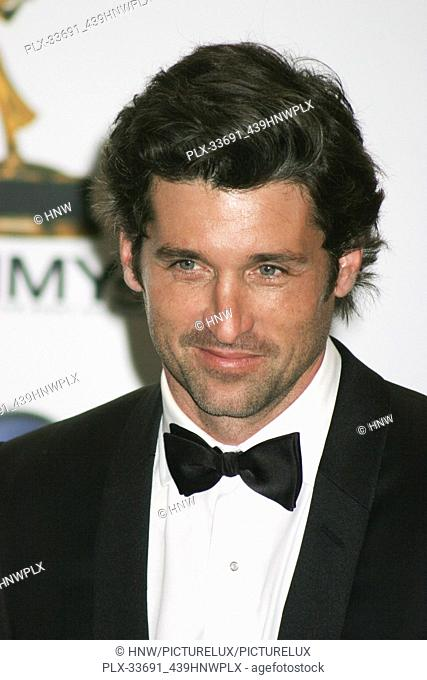 "Patrick Dempsey  09/21/08 """"The 60th Primetime Emmy Awards"""" @ Nokia Theatre, Los Angeles Photo by Izumi Hasegawa/HNW / PictureLux (September 21, 2008)"