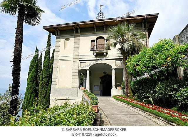 Villa Monastero, Museum, Varenna, Lake Como, Lago di Como, Lecco Province, Lombardy, Italy