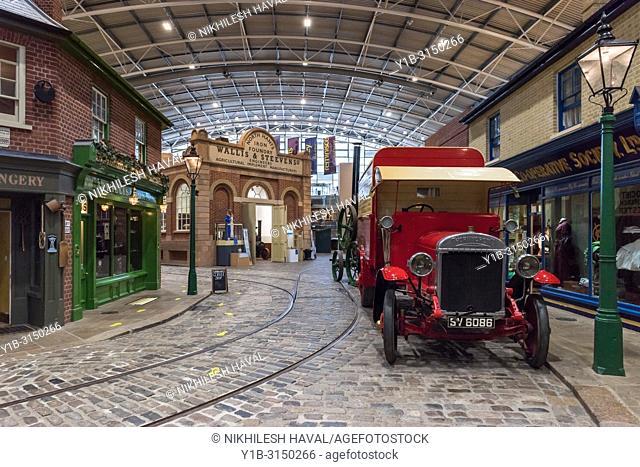 Victorian Streetscene, Milestones Museum, Basingstoke, Hampshire, UK