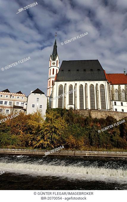 St Vitus Church, Cesky Krumlov, UNESCO World Heritage Site, South Bohemia, Bohemia, Czech Republic, Europe