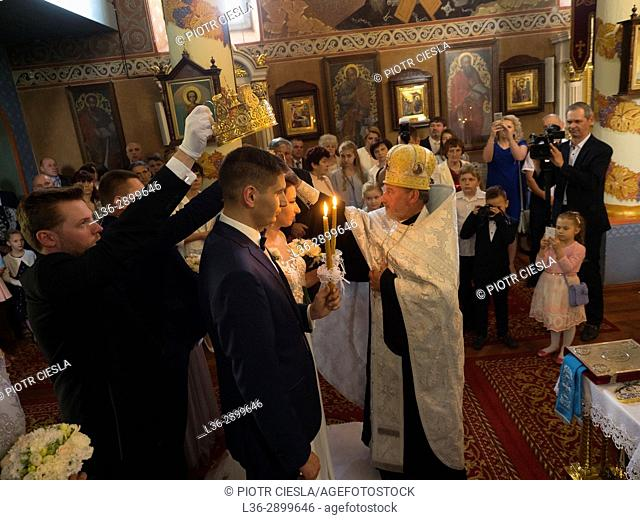 Poland. Mielnik. Orthodox wedding