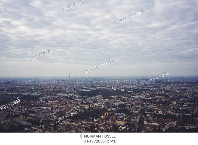 Cityscape view of Berlin, Germany