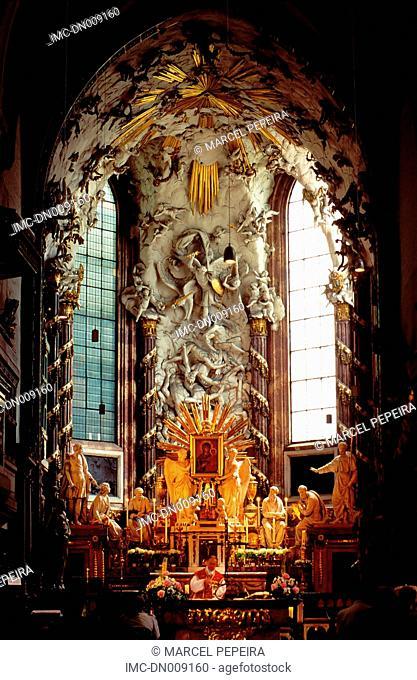 Austria, Vienna, church of St Michael Michaelerkirche