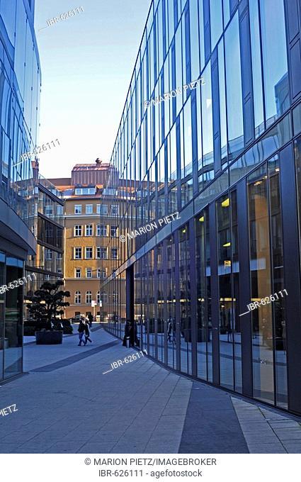 Bayerische Staatsoper (Bavarian State Opera), modern annex, Munich, Germany, Europe