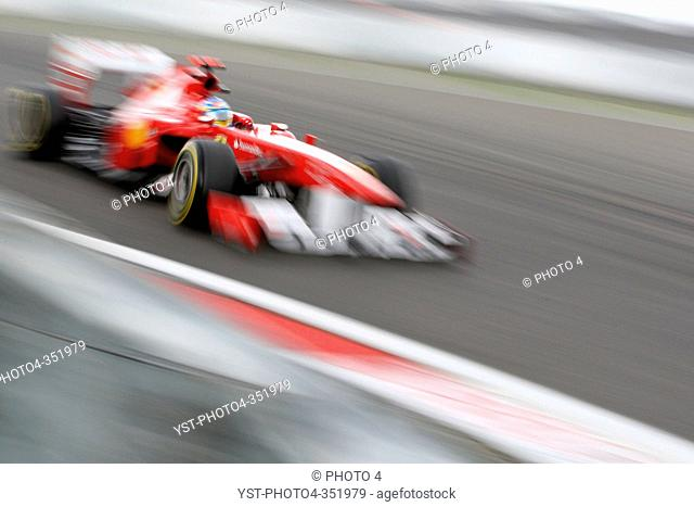 Fernando Alonso, Friday Practice, Formula One, German Grand Prix, Nurburgring, Germany