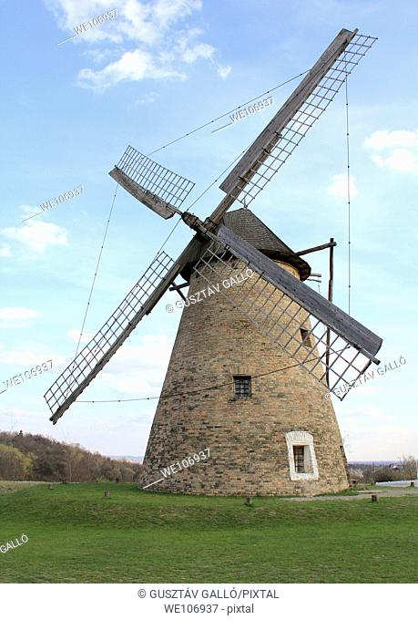 Windmill in Hungary, Szentendre, open-air museum
