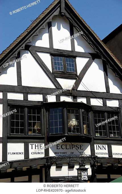 The oldest house in winchester Stock Photos and Images | age