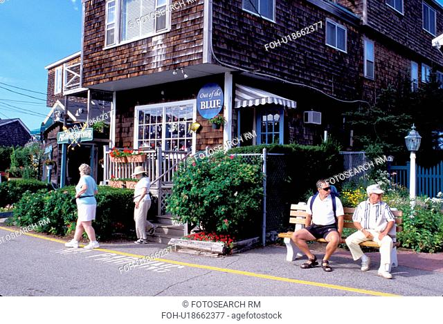 Perkins Cove, Ogunquit, Maine, ME, Gift Shops in the scenic fishing village of Perkins Cove