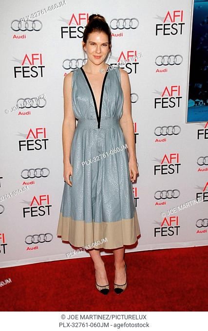 Lily Rabe at the AFI Fest 2015 World Premiere Gala Screening of The Big Short held at the TCL Chinese Theater in Hollywood, CA, November 12, 2015