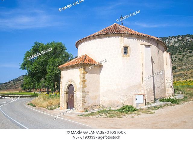 Church. Saelices de la Sal, Guadalajara province, Castilla La Mancha, Spain