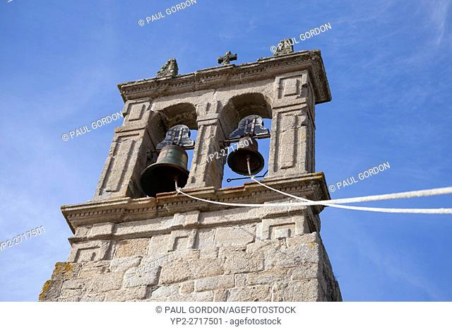 Muxía, Spain: Belfry of the Parish Church of Santa María de Muxía