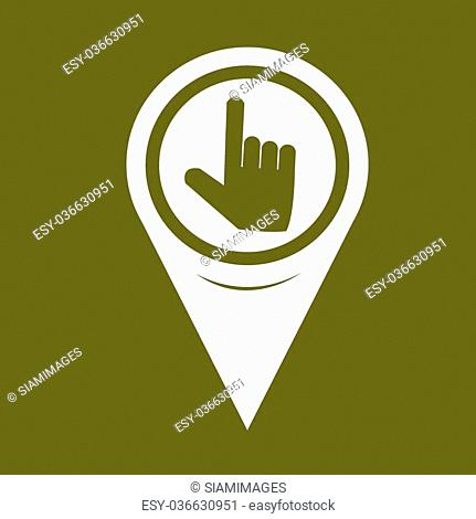 Map Pin Pointer pointer icon