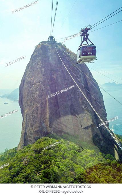 Pao de Acucar, Sugarloaf, Rio de Janiero, Brazil, Rio de Janeiro