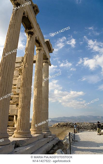 Detail of the Erechtheum, Acropolis, Athens, Greece