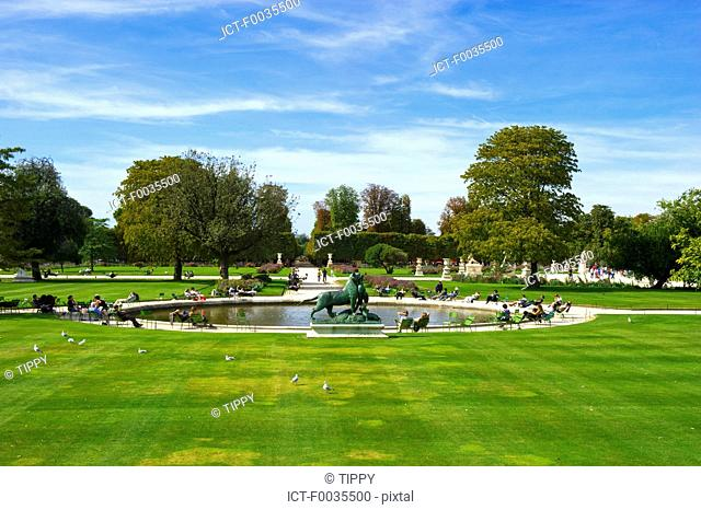 France, Paris 75, Ile de France, Tuileries garden