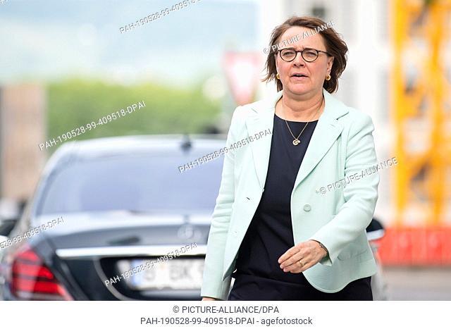 27 May 2019, Baden-Wuerttemberg, Landesweit: Annette Widmann-Mauz (CDU), Member of the Bundestag and Deputy State Chairwoman of the CDU Baden-Württemberg as...
