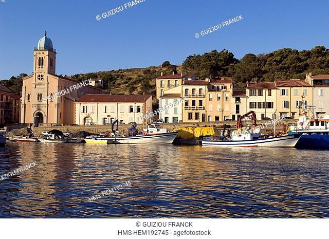 France, Pyrenees Orientales, Port Vendres