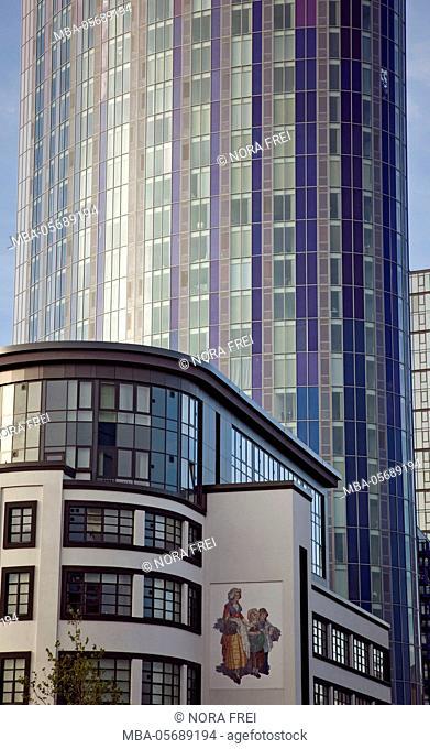 Great Britain, London, architecture, town, skyscraper, glass