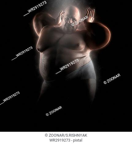 extremally fat hot man