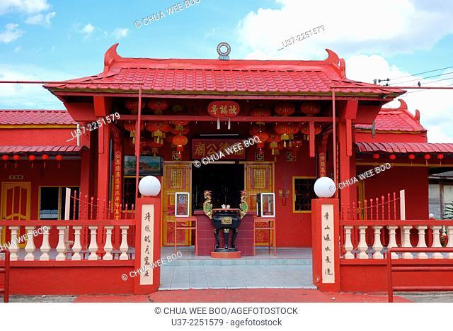 A chinese temple at Simunjan town, Sarawak, Malaysia