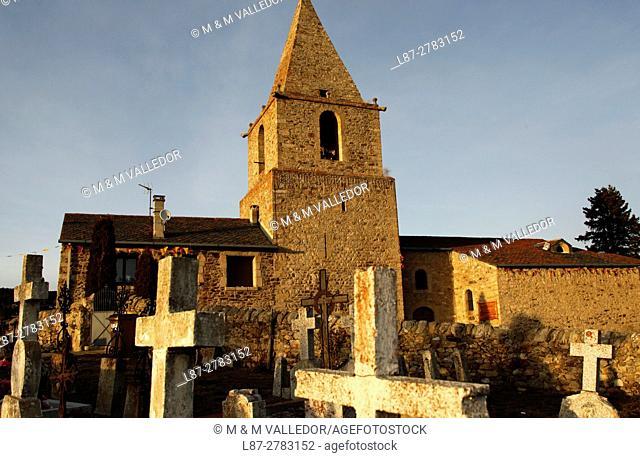 SANTA EULALIA CHURCH, BOLQUERE, FRANCE