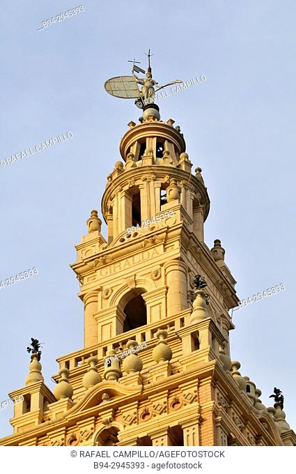 La Giralda, a neo-Arab building on the outskirts of the city. It was commissioned by Joan Roquer i Marí as a gift to his wife after a trip through Andalucian...