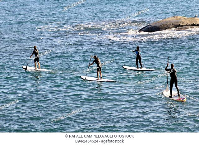 Surf kayaking is a sport that comes from a cross between the worlds of kayaking and surfing. It is to use the driving force of the waves to slide over them with...