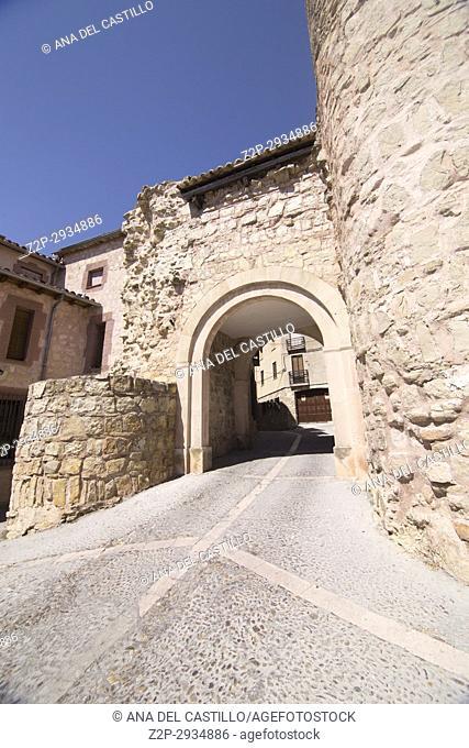 Siguenza is a medieval village in Guadalajara Castile La Mancha Spain