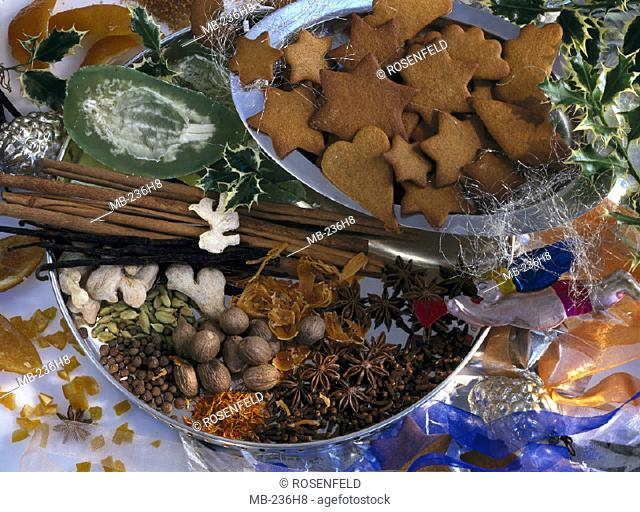 Still life, Christmas baking, Spice biskuits