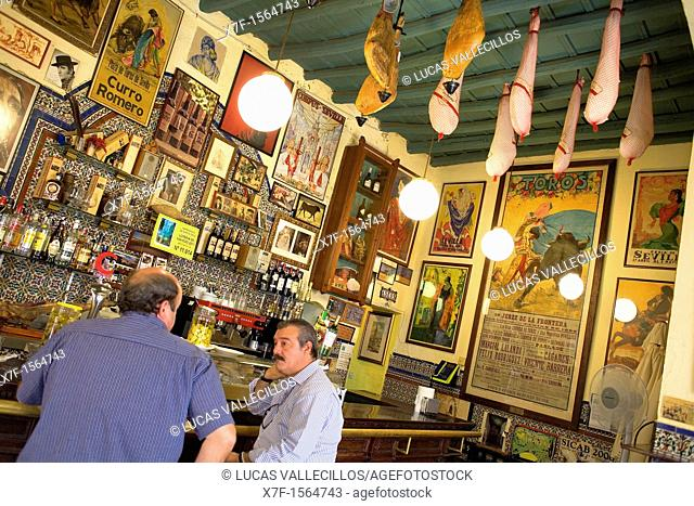 Bar Casa Placido,in 11 Ximenez de Enciso street, Santa Cruz Quarter,Sevilla,Andalucía,Spain