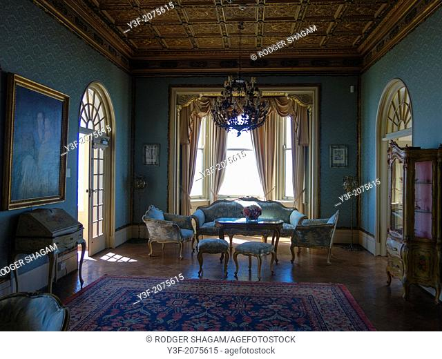 The interior of an historical house/museum. Cape Town, South Africa