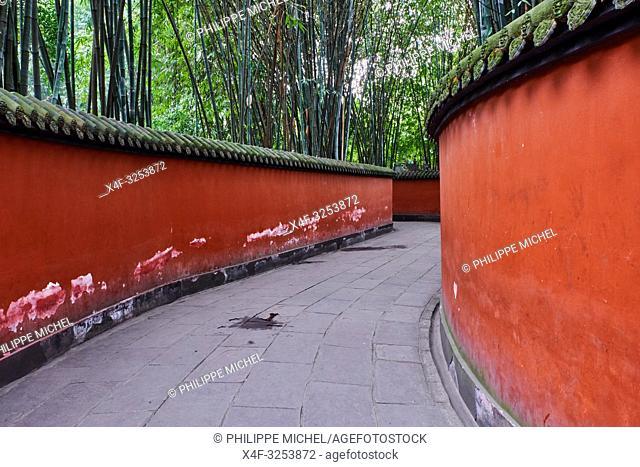 China, Sichuan province, Chengdu, Wuhou Temple