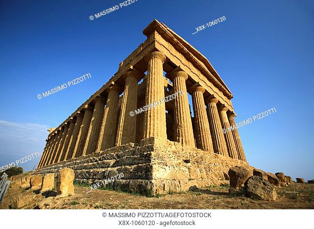 Temple of Concordia, Valley of the Temples, Agrigento, Italy