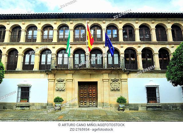 The City Hall, XVIIIth century. Ronda, Málaga province, Spain