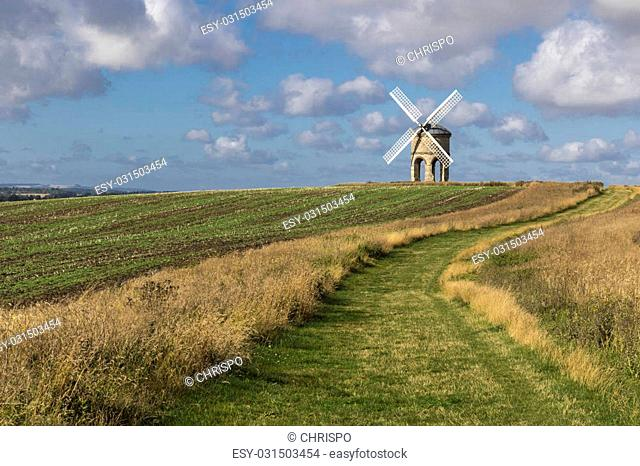 Chesterton Windmill, Warwickshire,England, built in 1632, possibly designed by Inigo Jones, its structure and mechanism are unique