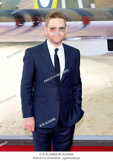 Kenneth Branagh attends the World Premiere of DUNKIRK. London, UK. 13/07/2017 | usage worldwide. - London/United Kingdom of Great Britain and Northern Ireland