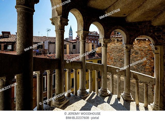 Staircase in Venice, Veneto, Italy