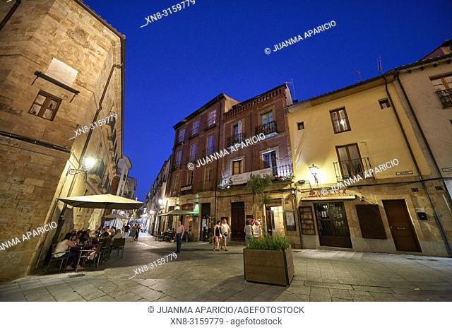 Calle Meléndez, Salamanca City, Spain, Europe