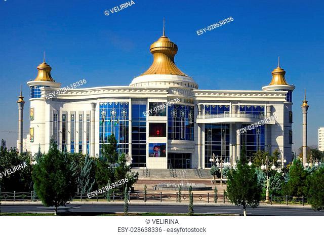 Modern architecture of Ashgabat