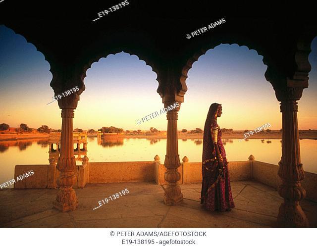 Woman. Jaisalmer. Rajasthan. India