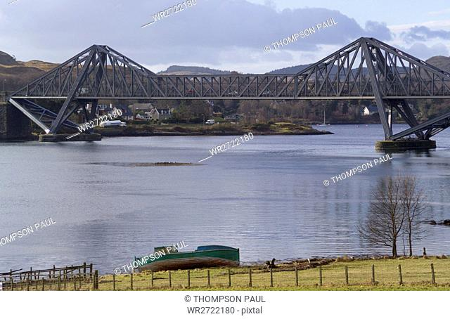 90900177, Scotland, Connel Bridge, Loch Etive, Nea