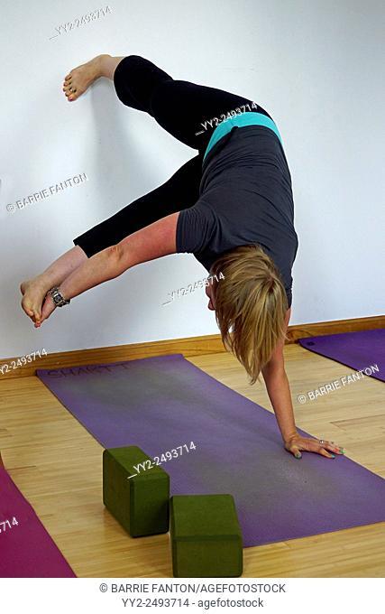 Yoga Pose, Geneseo, New York, United States