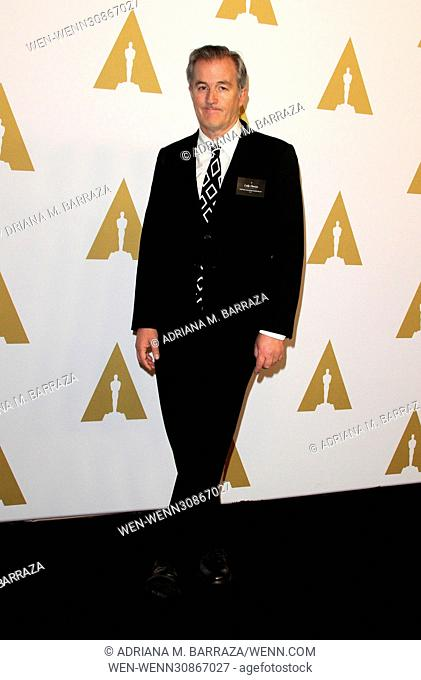 89th Oscars Nominees Luncheon 2017 held in the Grand Ballroom at the Beverly Hilton Hotel in Beverly Hills. Featuring: Luke Davies Where: Los Angeles