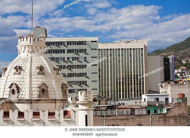 Dome of former Casa Presidencial, Tegucigalpa, Honduras