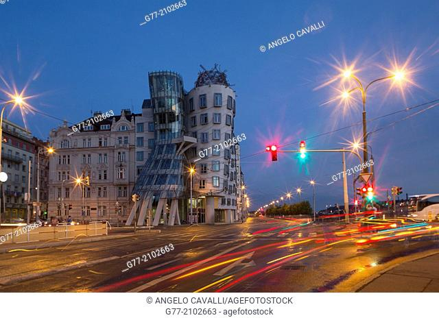 Czech Republic. Prague. The Old Town. The 'Dancing House'