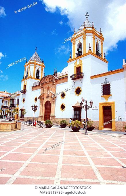 Plaza del Socorro. Ronda, Malaga province, Andalucia, Spain