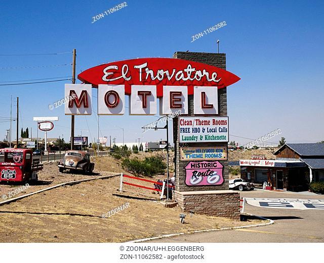 Historic Route 66 Motel,Kingman,Arizona