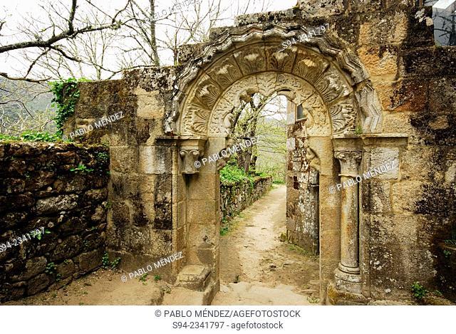 Monastery of Santa Cristina in Parada de Sil, Orense, Spain